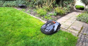 Mähroboter für getrennte Rasenflächen im Test