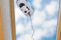 Fensterputzroboter Überkopf Test