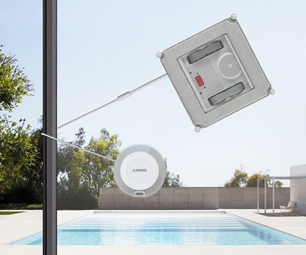 Kabelloser Fensterputzroboter Test