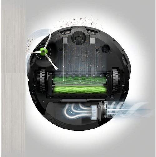 iRobot Roomba i7 Saugleistung