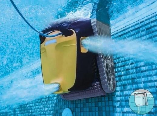 Dolphin E30 Saugleistung
