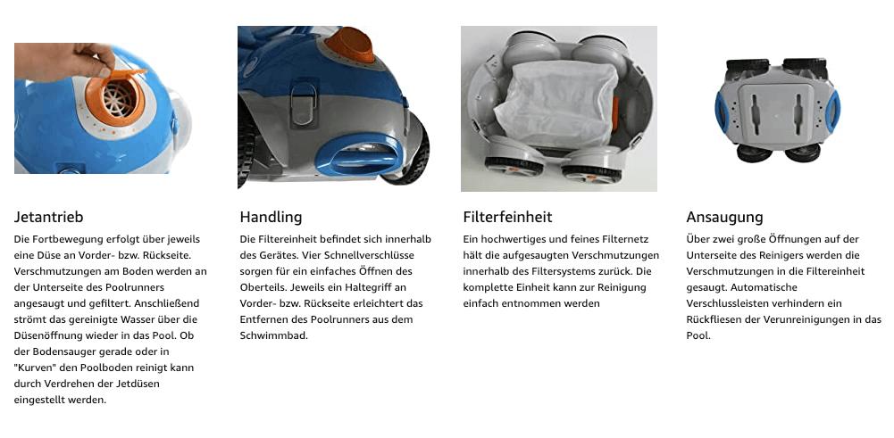 Steinbach Schwimmbadreiniger Speedcleaner